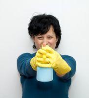 Vinagre y sal de limpieza