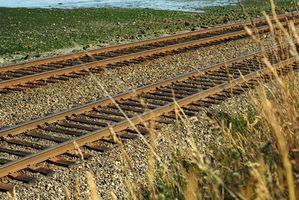 Cómo construir Uso de durmientes de ferrocarril y cerchas
