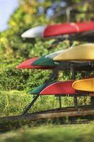 Hágalo usted mismo: Planes de rack de almacenamiento Kayak