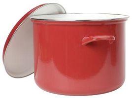 ¿Qué es la porcelana esmaltada de utensilios de cocina?