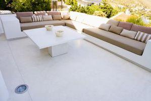 Suministros para retapizado de muebles al aire libre