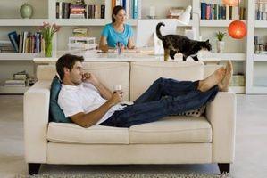 Cómo diseñar una combinación de salas espacio de oficinas y una sala de estar