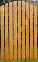 Cómo construir una puerta lateral de madera