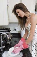 Cómo hacer un escurridor para platos