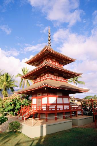 Cómo pintar Japonesa Pagodas