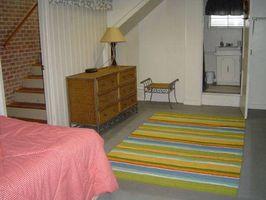 Acerca del sótano dormitorios