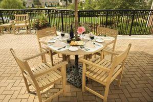 ¿Qué tipo de muebles al aire libre lleva los mejores?