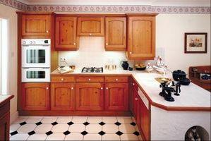 Los mejores acabados de pintura de Do-It-Yourself gabinetes de la cocina