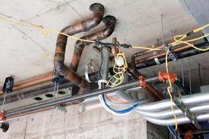 Cómo conectar PVC de cobre de drenaje
