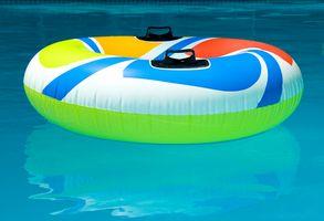 ¿Puede usted Coloque una piscina en la cima de una cubierta de madera?