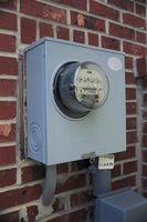 Cómo instalar una base del medidor eléctrico