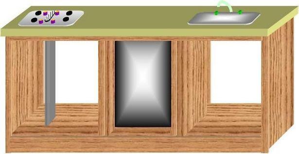hacer muebles de cocina / Digfineart.com