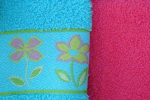 Cómo decorar toallas de baño