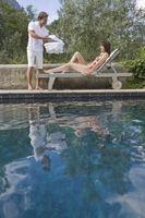 Como prueba de fugas para piscinas enterradas