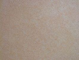 Datos sobre Fibra de madera de densidad media