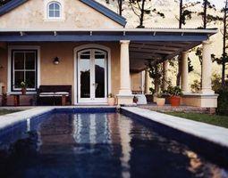 Las arrugas pueden en una piscina de vinilo fijarse?
