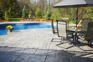 Cómo encender Wash patios de concreto